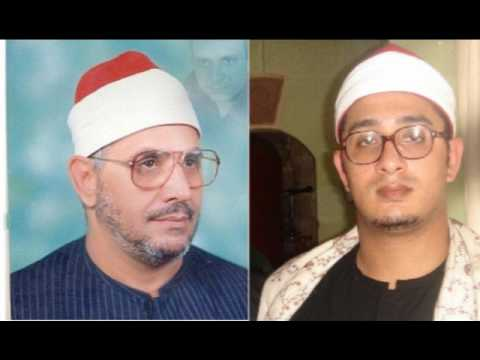 شيخ محمود شحات يقلد ابيه في سورة الضحي رائعة