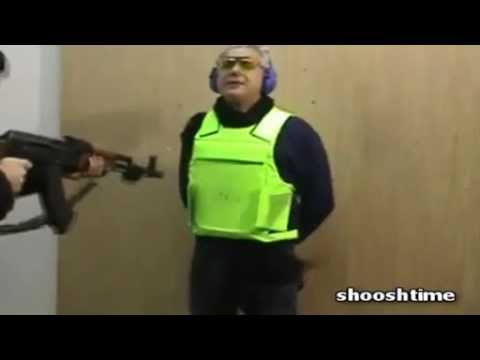 How Bullet Proof Vests are Tested