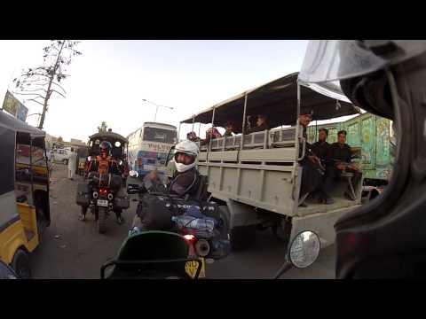 Riding through Quetta