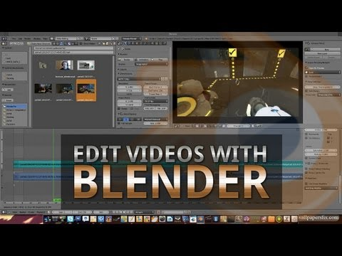 [TUTORIAL] How to edit videos with Blender
