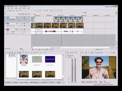 Editing videos using Sony Vegas : Tutorial / Crash course