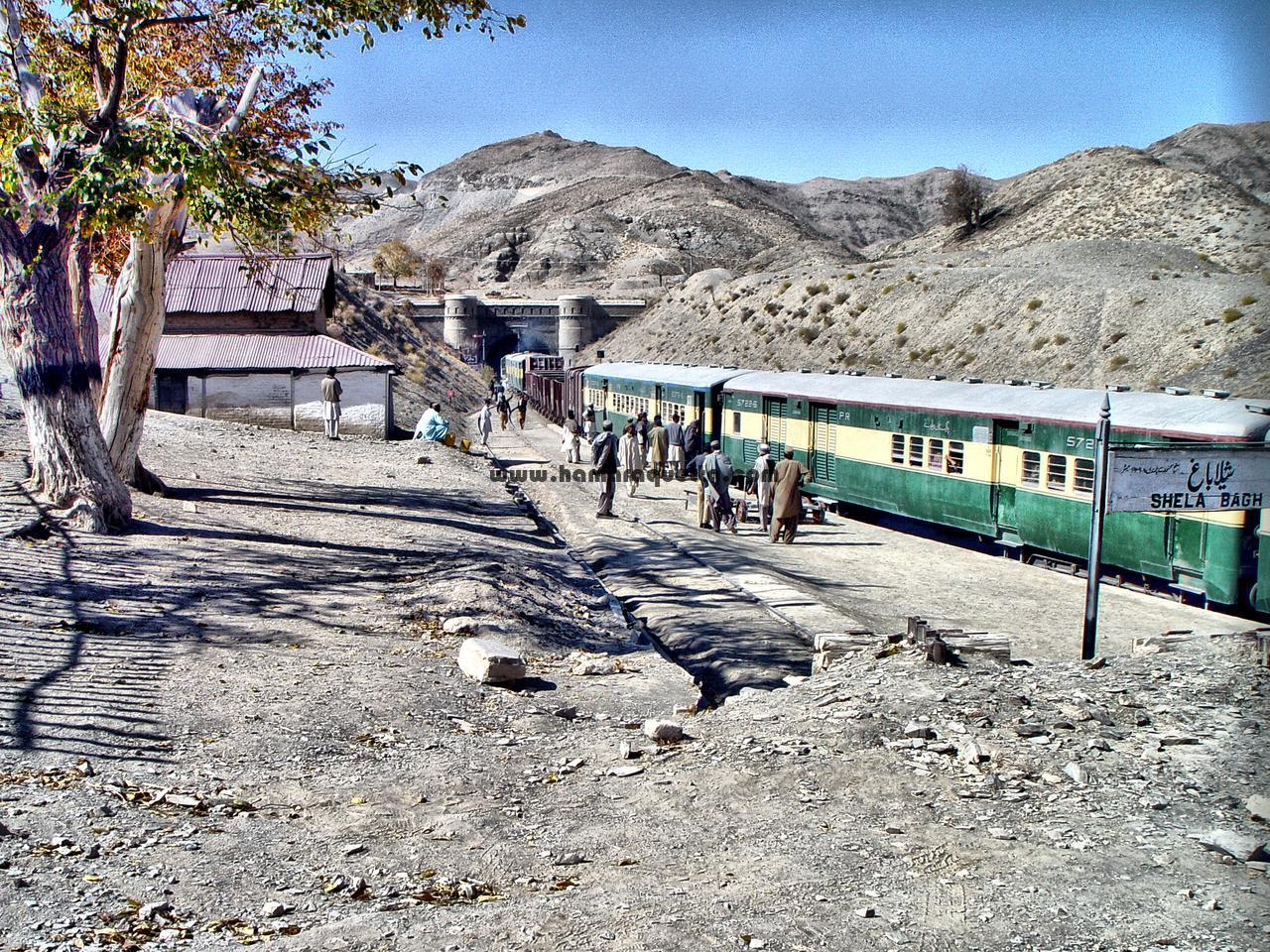 Chaman Passenger On Shela Bagh Station Hamaraquetta